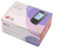 LG P350 Optimus Me, telefon Silver